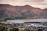NEW ZEALAND, Wanaka, Wanka and Roys Peak from Iron Mountain, Ben M Thomas