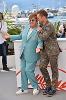 "CANNES, FRANCE. May 16, 2019: Elton John & Taron Egerton at the photocall for the ""Rocketman"" at the 72nd Festival de Cannes.<br /> Picture: Paul Smith / Featureflash"