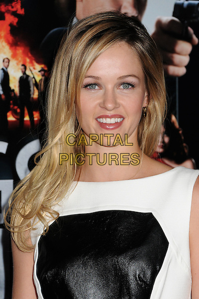 """Ambyr Childers.""""Gangster Squad"""" Los Angeles Premiere held at Grauman's Chinese Theatre, Hollywood, California, USA..January 7th, 2013.headshot portrait black white leather .CAP/ADM/BP.©Byron Purvis/AdMedia/Capital Pictures."""