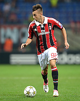 FUSSBALL   CHAMPIONS LEAGUE   SAISON 2012/2013   GRUPPENPHASE   AC Mailand - Anderlecht                            18.09.2012 Stephan El Shaarawy (AC Mailand)
