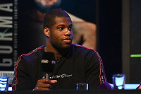 Daniel Dubois during a Press Conference at the BT Studio on 9th May 2019
