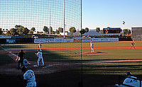 Ballparks: Phoenix, AZ. Scottsdale Stadium. View from General Admission, first base side!