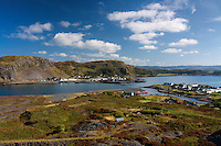 Ellenabeich and Seil from High Hill, Easdale, Argyll & Bute