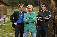 The Christmas Card (2006)<br /> Promo shot of Ben Weber, Alice Evans &amp; John Newton                              <br /> *Filmstill - Editorial Use Only*<br /> CAP/KFS<br /> Image supplied by Capital Pictures