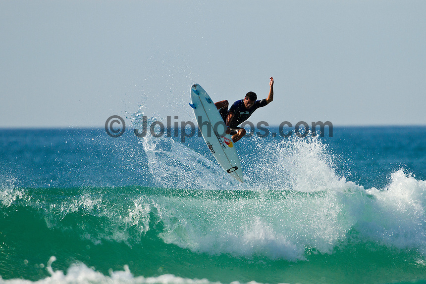 Les Bourdaines, Hossegor/France (Wednesday, September 29, 2010) .Adriano de Souza (BRA) free surfing during a session at Les Bourdaines today after the Quiksilver Pro France was called off..Photo: joliphotos.com