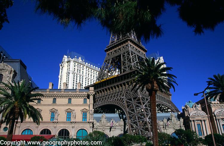 Eiffel Tower, The Strip, Las Vegas, Nevada, USA