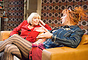 All About My Mother,based on the film by Pedro Almodovar ,a new play by Samuel Adamson. Directed by Tom Cairns. With Diana Rigg as Huma Rojo, Mark Gatiss as Agrado. Opening at The Old Vic Theatre on 4/9/2007 . CREDIT Geraint Lewis