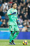 Real Madrid's Keylor Navas during La Liga match. March 1,2017. (ALTERPHOTOS/Acero)
