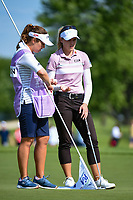 Brooke M. Henderson (CAN) looks over her putt on 11 during the round 1 of the KPMG Women's PGA Championship, Hazeltine National, Chaska, Minnesota, USA. 6/20/2019.<br /> Picture: Golffile | Ken Murray<br /> <br /> <br /> All photo usage must carry mandatory copyright credit (© Golffile | Ken Murray)