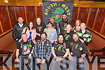 front l-r Sean McAdam, Mark Twomey, David Foley, James O'Connor, back l-r Paddy McElligott, Mags Molyneux, Kay Foley, Lisa Karney, Con Cable, Con Clarke, Samantha O'Connor, Jackie McElligott, Bernie Conway of the South West Motor Cycle Club Poker Run  Social at the Meadowlands hotel on Saturday - Thanks  everybody for turning up and also for the spot prizes available