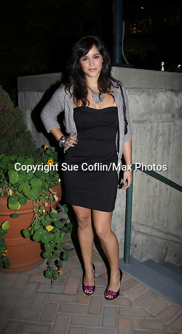 Melissa Gallo Fumero attends ABC Daytime Soap Casino Night with the Stars on October 28, 2010 at Guastavinos, New York City, New York. (Photo by Sue Coflin/Max Photos)