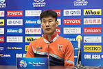 Pre-Match Press Conference and Training session prior to the AFC Champions League 2017 Round of 16 match between Jeju United FC (KOR) and Urawa Red Diamonds (JPN) at the Jeju Sports Complex on 23 May 2017 in Jeju, South Korea. Photo by Chris Wong / Power Sport Images