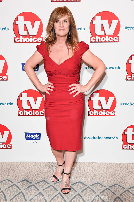 LONDON, UK. September 10, 2018: Siobhan Finneran at the TV Choice Awards 2018 at the Dorchester Hotel, London.<br /> Picture: Steve Vas/Featureflash