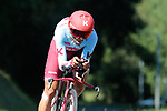 Daniel Navarro Garcia (ESP) Team Katusha Alpecin in action during Stage 10 of La Vuelta 2019 an individual time trial running 36.2km from Jurancon to Pau, France. 3rd September 2019.<br /> Picture: Colin Flockton | Cyclefile<br /> <br /> All photos usage must carry mandatory copyright credit (© Cyclefile | Colin Flockton)