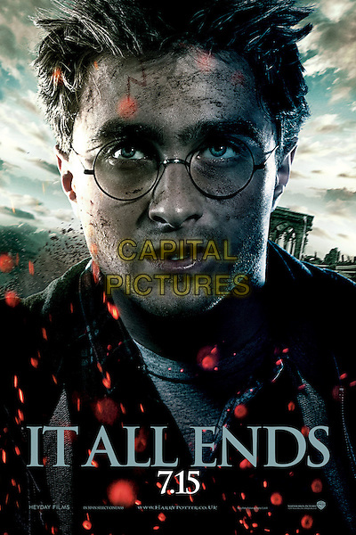 HARRY ONE SHEET POSTER ART.in Harry Potter and the Deathly Hallows: Part 2 .*Filmstill - Editorial Use Only*.CAP/FB.Supplied by Capital Pictures.