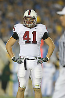 1 October 2006: Tom McAndrew during Stanford's 31-0 loss to UCLA at the Rose Bowl in Pasadena, CA.