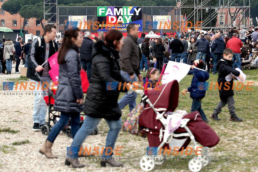Roma 30-01-2016 Manifestazione Family Day 2016.<br /> Photo Samantha Zucchi Insidefoto