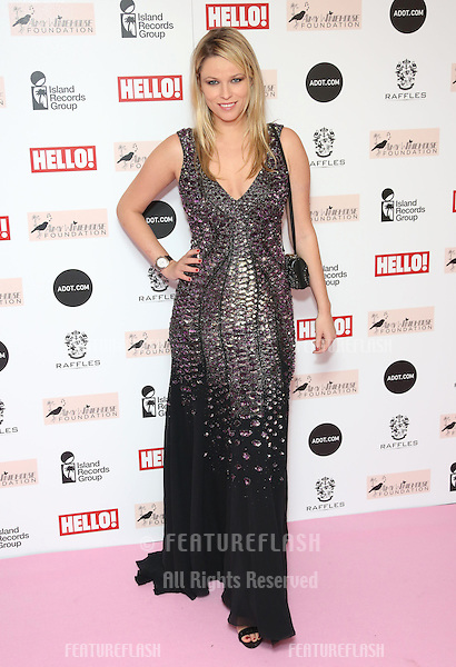 Kiera Chaplin arriving at the The Amy Winehouse foundation ball held at the Dorchester hotel, London. 20/11/2012 Picture by: Henry Harris / Featureflash