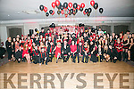 Tim Landers, Connolly Park Tralee, celebrate his 50th Birthday with a Red and Black themed Party with family and friends at the Ashe Hotel on Saturday