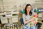 LEAP YEAR BABY: Kathleen Walsh Lawlor, Newmarket, with her baby Lorcan who was born on February 29th.