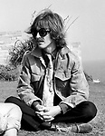 Beatles George Harrison during  Magical Mystery Tour Sep 1967..© Chris Walter..