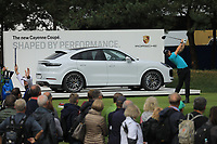 Thomas Pieters (BEL) during the third round of the Porsche European Open , Green Eagle Golf Club, Hamburg, Germany. 07/09/2019<br /> Picture: Golffile   Phil Inglis<br /> <br /> <br /> All photo usage must carry mandatory copyright credit (© Golffile   Phil Inglis)
