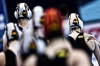 Team Germany   <br /> Budapest 13/01/2020 Duna Arena <br /> GERMANY (white caps) Vs. NETHERLANDS (blue caps)<br /> XXXIV LEN European Water Polo Championships 2020<br /> Photo  © Andrea Staccioli / Deepbluemedia / Insidefoto
