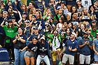 September 28, 2019; Football student section 2019 (Photo by Matt Cashore)