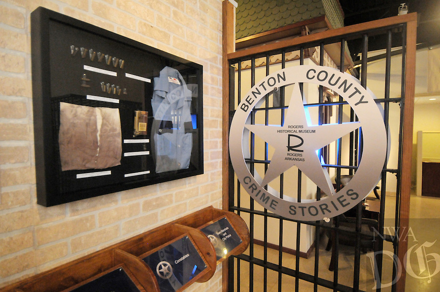 NWA Democrat-Gazette/BEN GOFF @NWABENGOFF<br /> A view of exhibits on Sunday March 13, 2016 inside the Rogers Historical Museum in downtown Rogers.