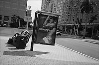 "From ""Miami in Black and White"" series. Miami, 2010."