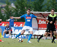 Jorginho  of Napoli during a preseason friendly soccer match against Aunania in Dimaro's Stadium   12 July 2017