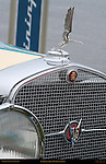 Cadillac 1931 452A Pininfarina, Grille and Mascot Detail, Pebble Beach Concours d'Elegance