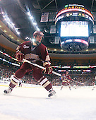 Nick Petrecki (BC - 26) - The Boston College Eagles defeated the University of Vermont Catamounts 4-0 in the Hockey East championship game on Saturday, March 22, 2008, at TD BankNorth Garden in Boston, Massachusetts.