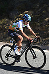 Egan Bernal (COL) Team Sky in action during Stage 4 of the Volta Ciclista a Catalunya 2019 running 150.3km from Llanars (Vall De Camprodon) to La Molina (Alp), Spain. 28th March 2019.<br /> Picture: Colin Flockton | Cyclefile<br /> <br /> <br /> All photos usage must carry mandatory copyright credit (© Cyclefile | Colin Flockton)
