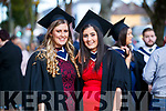 Patrice Slattery, (Causeway), who graduated in Business and Accountancy with Michelle O'Connor (Cork), who also graduated in Business in Accountancy, from IT Tralee, at the Brandon Conference Centre, Tralee, on Friday last.
