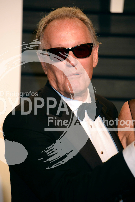 Peter Fonda attends the 2017 Vanity Fair Oscar Party hosted by Graydon Carter at Wallis Annenberg Center for the Performing Arts on February 26, 2017 in Beverly Hills, California.
