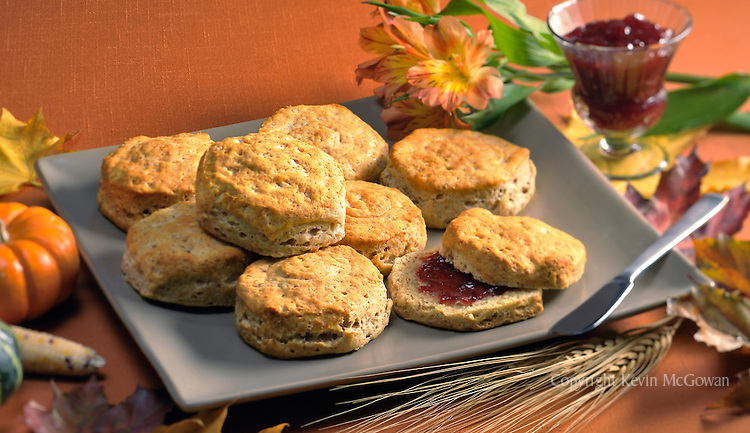 Biscuits with autumn theme