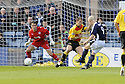 10/10/2009  Copyright  Pic : James Stewart.sct_jspa01_dundee_v_partick  . :: LEIGH GRIFFITHS SCORES THE FIRST FOR DUNDEE  :: .James Stewart Photography 19 Carronlea Drive, Falkirk. FK2 8DN      Vat Reg No. 607 6932 25.Telephone      : +44 (0)1324 570291 .Mobile              : +44 (0)7721 416997.E-mail  :  jim@jspa.co.uk.If you require further information then contact Jim Stewart on any of the numbers above.........