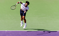 HYEON CHUNG (KOR)<br /> <br /> MIAMI OPEN, CRANDON PARK, KEY BISCAYNE, FLORIDA, USA<br /> ATP 1000, WTA PREMIER MANDATORY<br /> MEN &amp; WOMEN<br /> <br /> &copy; TENNIS PHOTO NETWORK