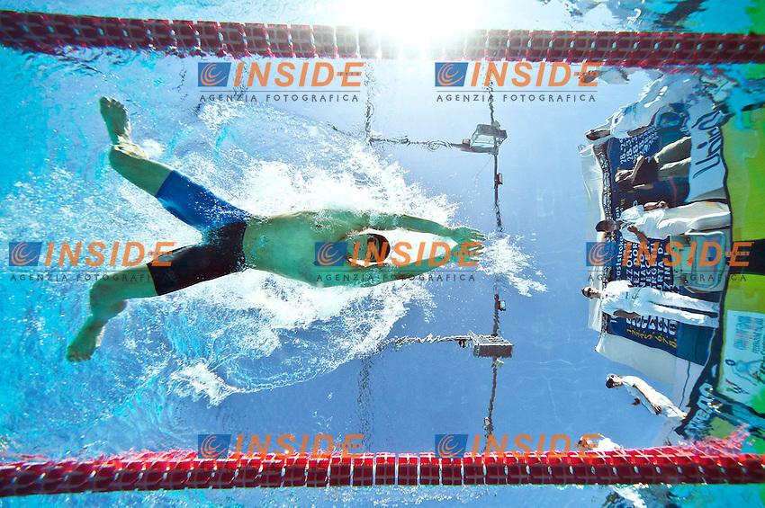 SCOZZOLI Fabio ITA<br /> 100 Breaststroke Man<br /> 50 Settecolli Trofeo Internazionale di nuoto 2013<br /> swimming<br /> Roma, Foro Italico  12 - 15/06/2013<br /> Day01 Final<br /> Photo Diego Montano/Deepbluemedia/Insidefoto