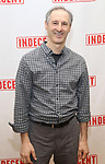 """Richard Topal attends the """"Indecent"""" Media Day at Playwrights Horizons on March 13, 2017 in New York City."""