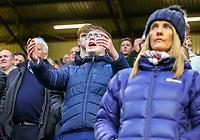 Burnley fans cheer their team on<br /> <br /> Photographer Alex Dodd/CameraSport<br /> <br /> The Premier League - Burnley v West Ham United - Sunday 30th December 2018 - Turf Moor - Burnley<br /> <br /> World Copyright © 2018 CameraSport. All rights reserved. 43 Linden Ave. Countesthorpe. Leicester. England. LE8 5PG - Tel: +44 (0) 116 277 4147 - admin@camerasport.com - www.camerasport.com