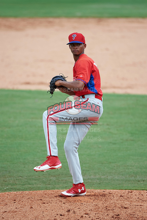 Philadelphia Phillies pitcher Felix Paulino (79) during an instructional league game against the New York Yankees on September 29, 2015 at Brighthouse Field in Clearwater, Florida.  (Mike Janes/Four Seam Images)