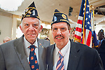 American Legion's Fifth Annual Military Ball/Post Commanders Night at the Stuart Thomas Manor, Farmingdale, New York, USA, on Saturday, February 18, 2012. PCC Robert Thomas Riordan and fellow veteran.