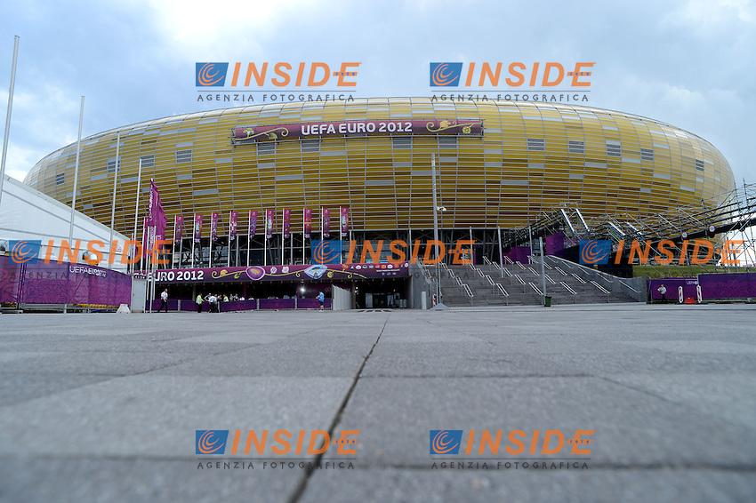 "GDANSK ARENA.Danzica 10/06/2012  ""GDANSK ARENA"".Football calcio Europeo 2012 Spagna vs Italia.Football Calcio Euro 2012.Foto Insidefoto Alessandro Sabattini..."