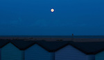 Supermoon, Southsea August 10th, 2014