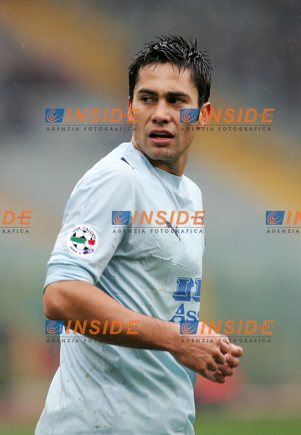 Luis Antonio Jimenez (Lazio)<br /> Italian &quot;Serie A&quot; 2006-07<br /> 18 Feb 2007 (Match Day 24)<br /> Lazio-Torino (2-0)<br /> &quot;Olimpico&quot;-Stadium-Roma-Italy<br /> Photographer: Andrea Staccioli INSIDE