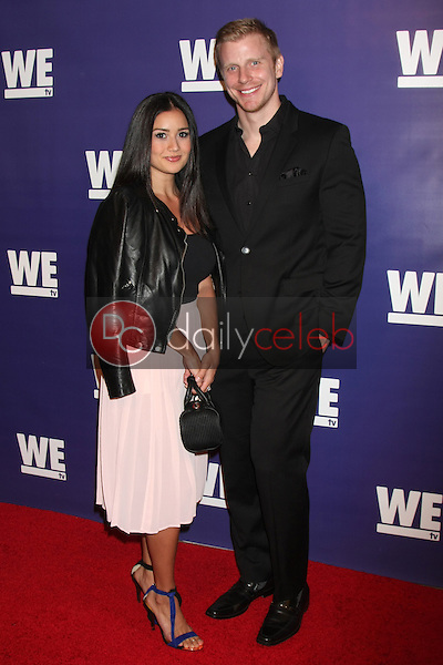"""Catherine Lowe, Sean Lowe<br /> at the WE tv Presents """"The Evolution of Relationship Reality Shows,"""" Paley Center for Media, Beverly Hills, CA 03-19-14<br /> Dave Edwards/DailyCeleb.com 818-249-4998"""