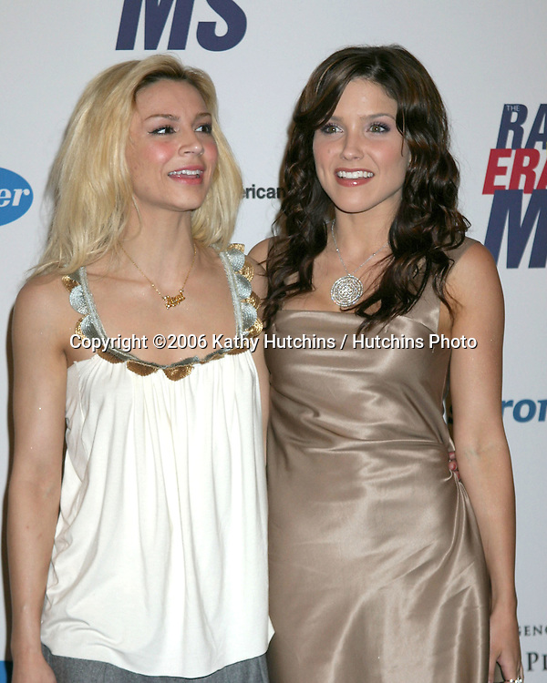 Samaire Armstrong & Sophia Bush arriving at the.13th Annual Race to Erase MS Benefit.Cetnury Plaza Hotel.Century City, CA.May 12, 2006.©2006 Kathy Hutchins / Hutchins Photo....