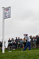 Jovan Rebula (a)(RSA) watches his tee shot on 9 during round 1 of the 2019 US Open, Pebble Beach Golf Links, Monterrey, California, USA. 6/13/2019.<br /> Picture: Golffile | Ken Murray<br /> <br /> All photo usage must carry mandatory copyright credit (© Golffile | Ken Murray)
